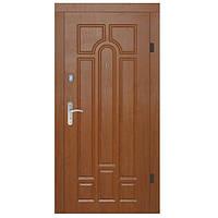 Двери металлические входные APECS 960 Basic (левые) золотой дуб