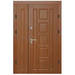 Двери металлические входные APECS 1200 Premier (правые) золотой дуб