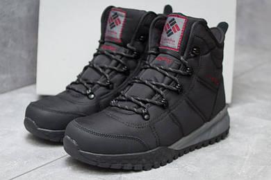 Зимние ботинки Columbia Waterproof, черные (30171),  [  46 (последняя пара)  ]