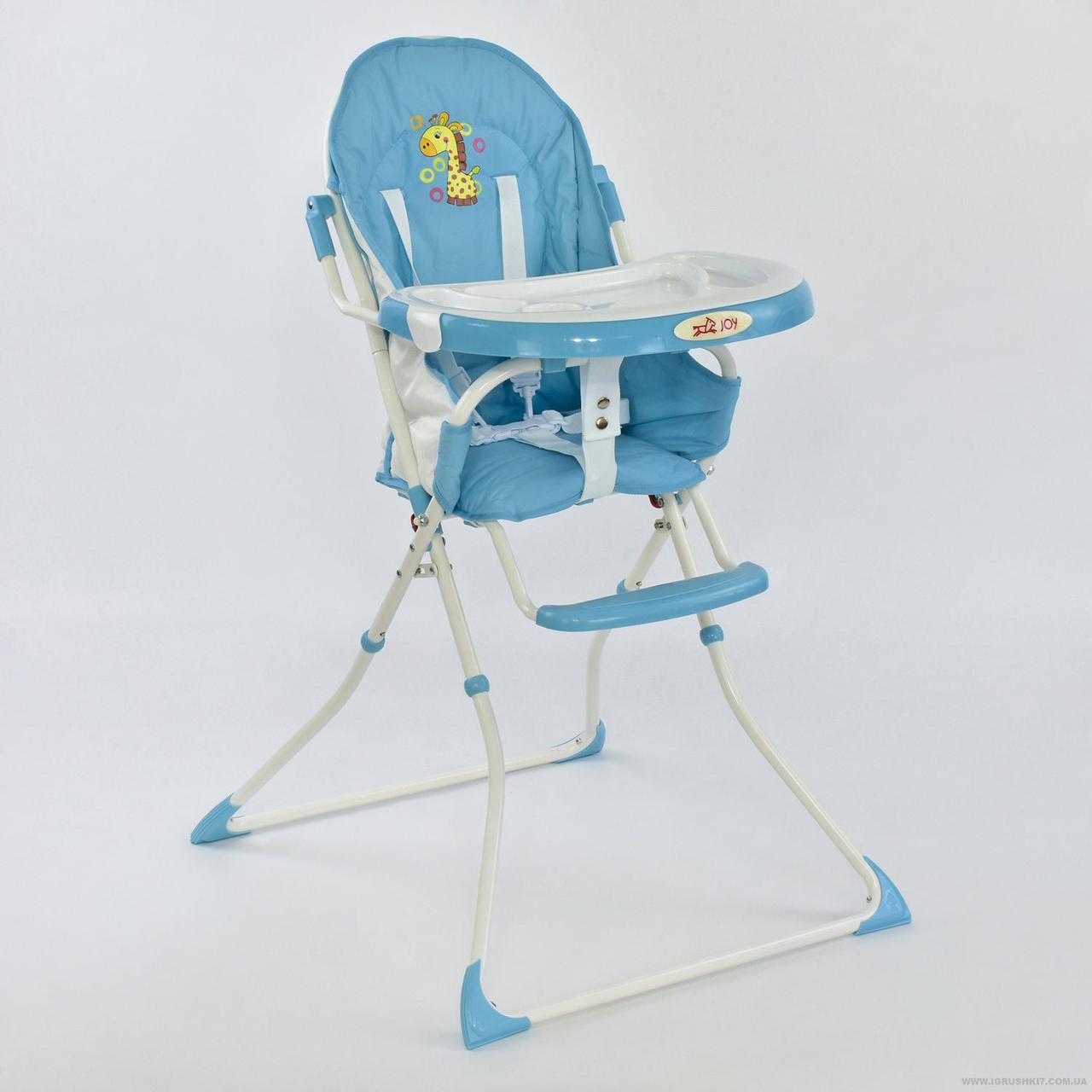 Стульчик для кормления JOY 8857 голубой