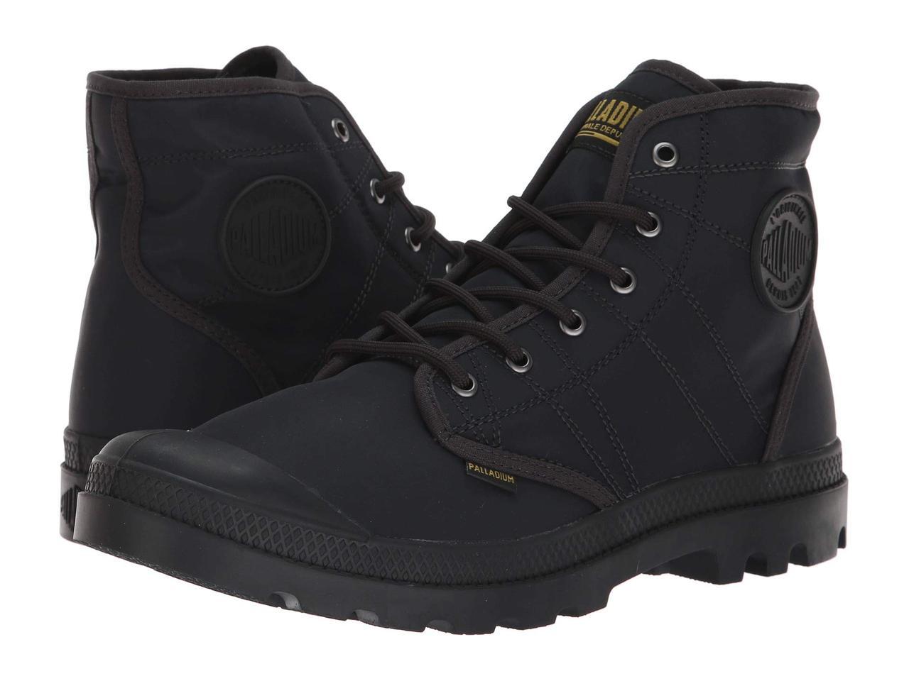 Ботинки Сапоги (Оригинал) Palladium Pallabrousse TX Anthracite Black ... cc6274e487b99