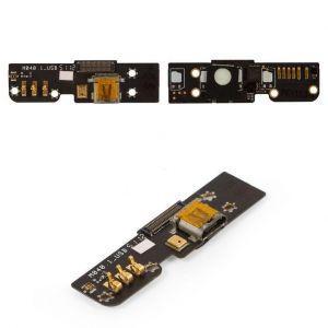 Плата зарядки для Meizu MX2 (M040), с разъемом зарядки, с микрофоном