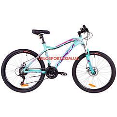 """Горный велосипед Formula Mystique 1.0 DD 26 дюймов 18"""" бирюзовый"""
