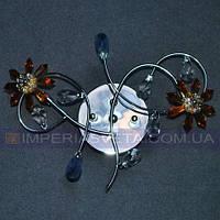 Светильник бра, настенное галогеновое IMPERIA двухламповое LUX-150645