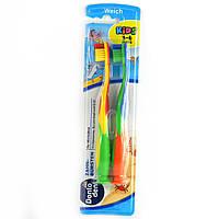 Зубнi щiтки дитячі Dontodent kids з 3-6 років 2шт