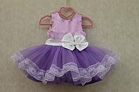 """Нарядное платье на девочку """" Бузок"""" в сиреневом цвете"""