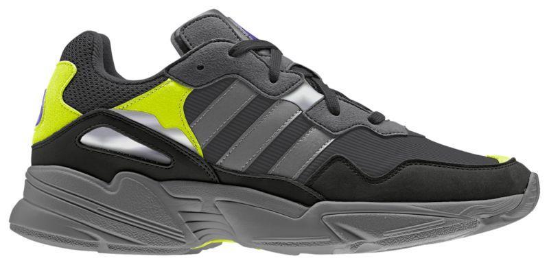 1dfa79a2d004 Кроссовки Кеды (Оригинал) adidas Originals Yung-96 Carbon Grey Solar Yellow