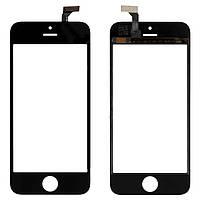 Сенсорный экран iPhone 5 черный (тачскрин, стекло в сборе), Сенсорний екран iPhone 5 чорний (тачскрін, скло в зборі)