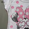 Летний костюм Minnie Mouse для девочки. 4-5 лет, фото 2