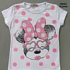 Летний костюм Minnie Mouse для девочки. 4-5 лет, фото 3