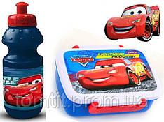 """Набор """"Cars (Тачки)"""".  Ланч бокс (ланчбокс) + бутылка"""