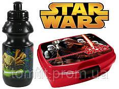 """Набор """"Star wars - Звездные войны"""". Бутылка и Ланч бокс (ланчбокс)"""