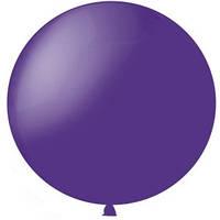 Латексный шар 36/91см, фиолетовый, декоратор 049