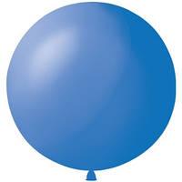 Латексный шар 36/91см, синий, пастель 003