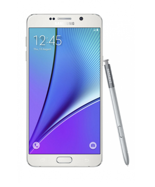Смартфон Samsung N9208 Galaxy Note 5 Duos 32GB (White Pearl)