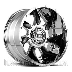 Диски GRID OFF-ROAD GD-1 Chrome with Black Inserts