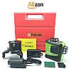 Зелёные лучи Fukuda максимальная комплектация 3D лазерный уровень (нивелир) с аккумулятором