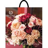 Пакет полиэтиленовый петлевой 380х340 Букет роз Каменец-Подольский
