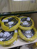 2.8 м2 In-Therm ADSV20 Fenix нагревательный двухжильный резистивный кабель тонкий под плитку или стяжку, фото 3