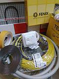 2.8 м2 In-Therm ADSV20 Fenix нагревательный двухжильный резистивный кабель тонкий под плитку или стяжку, фото 7