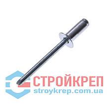 Заклёпка вытяжная, стандартная головка, сталь/сталь, 4,0х14