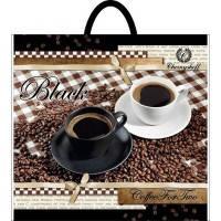 Пакет полиэтиленовый петлевой 380х340 кофе Суммы