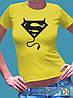 """Женская футболка с рисунком """"Суперчертик"""""""