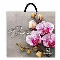Пакет полиэтиленовый петлевой 380х340 розовая орхидея Херсон