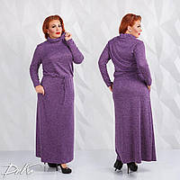 Женское модное платье в пол  ДГд1113 (бат), фото 1