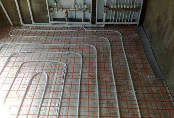 Монтаж теплого пола в квартире