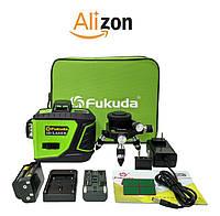 Зелёные лучи лазерный уровень (нивелир) Fukuda New 3D green MW-93T-2-3GJ