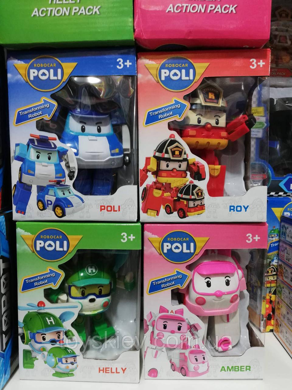 Машинки-трансформер Робокар Полли Robocar Poli 828-1