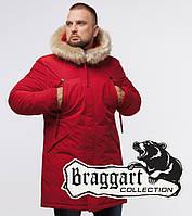 Braggart Arctic 13475   Зимняя мужская парка красная