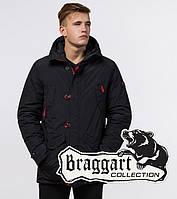 Braggart Arctic 44230   Зимняя теплая парка черный-красный