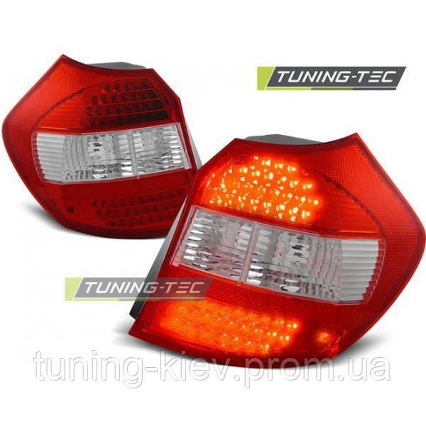 Задние фонари BMW E87/E81 04-08.07 RED WHITE LED