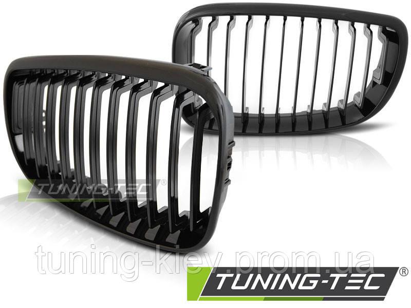 Решетка радиатора (ноздри) BMW E87/E81/E82/E88 09.07-13 GLOSSY BLACK