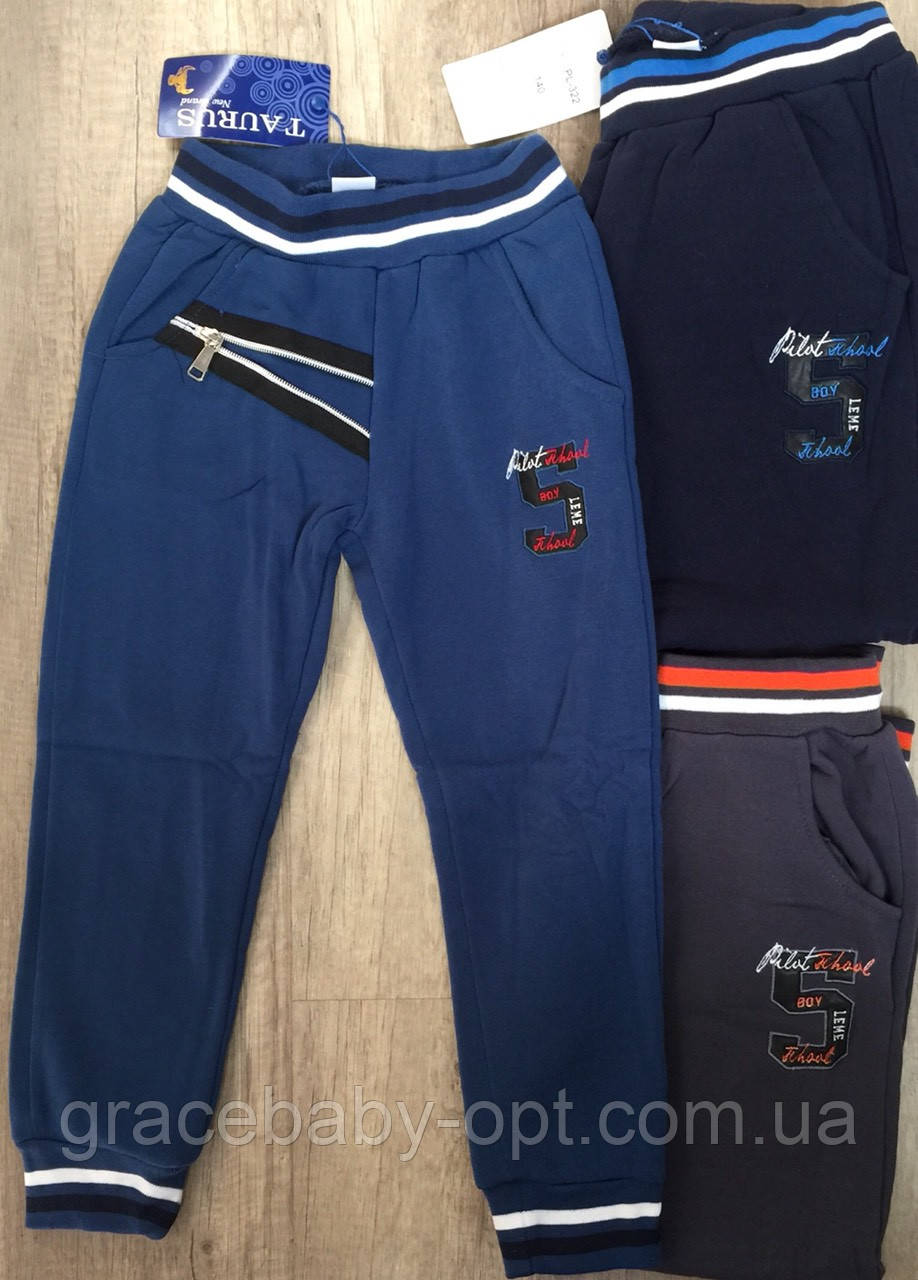 b5819665126e Спортивные утепленные штаны для мальчика оптом, Taurus, 110-140 см, № PL-322