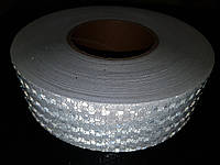 Светоотражающая самоклеющаяся лента БЕЛАЯ 5х100 см