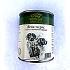 Корм Хубертус Голд Hubertus Gold консерва для собак ягнёнок рис 800 г