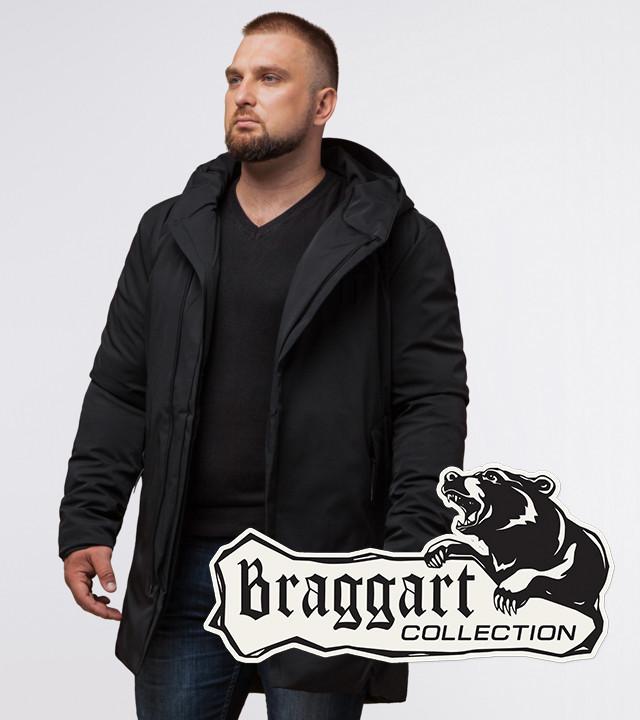 Braggart Black Diamond 12632 | Куртка зимняя мужская черная
