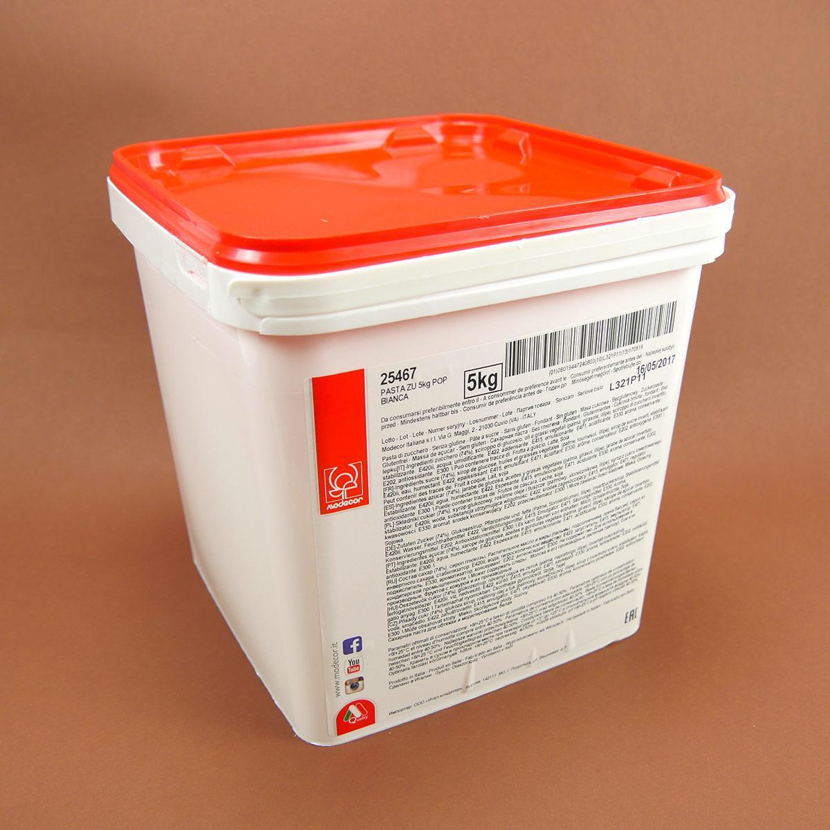 Мастика универсальная белая 5 кг, Modecor