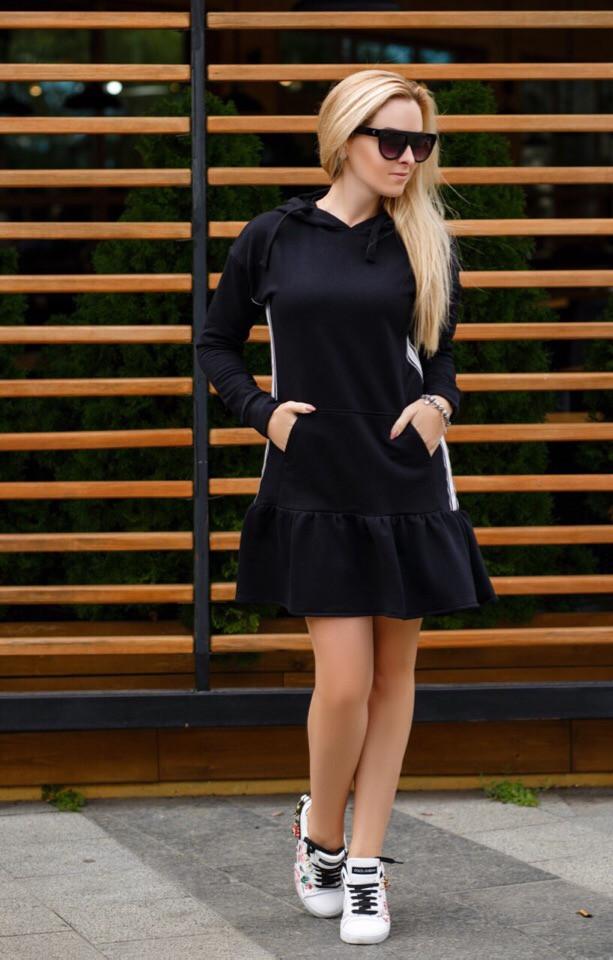 Женское повседневное платье №48-386