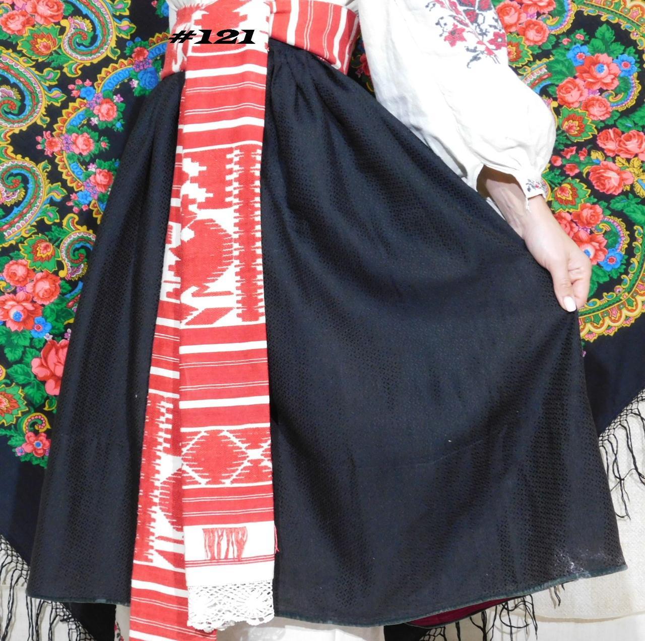 Стародавня спідниця жіноча чорного кольору. №121  продажа 80f1c0c2af543