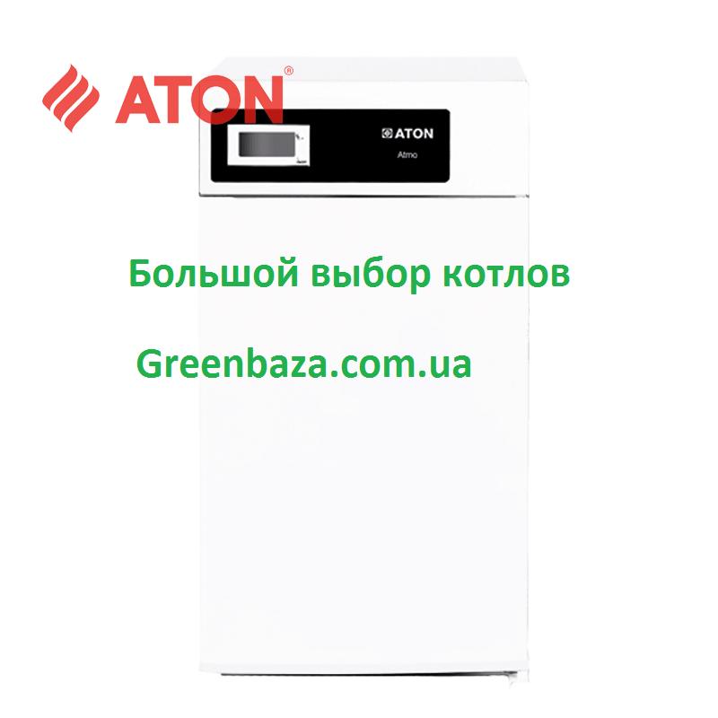 Газовый котел напольный Атон АОГВМ-12,5Е (дым)