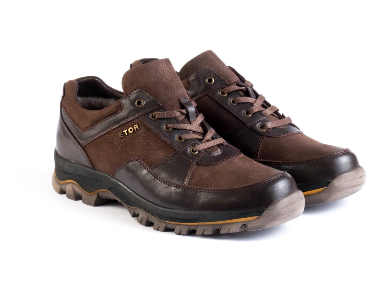 Кросівки Etor 8883-295-02 коричневий