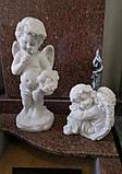 Скульптуры ангелов для памятников. Ангелочек из мрамора №16, фото 7