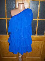 Шифоновое платье на одно плечо 0055, фото 1