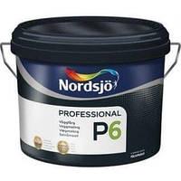 Краска Sadolin PROFESSIONAL P6 -износостойкая краска для стен,  белый BW, 2,5 л.