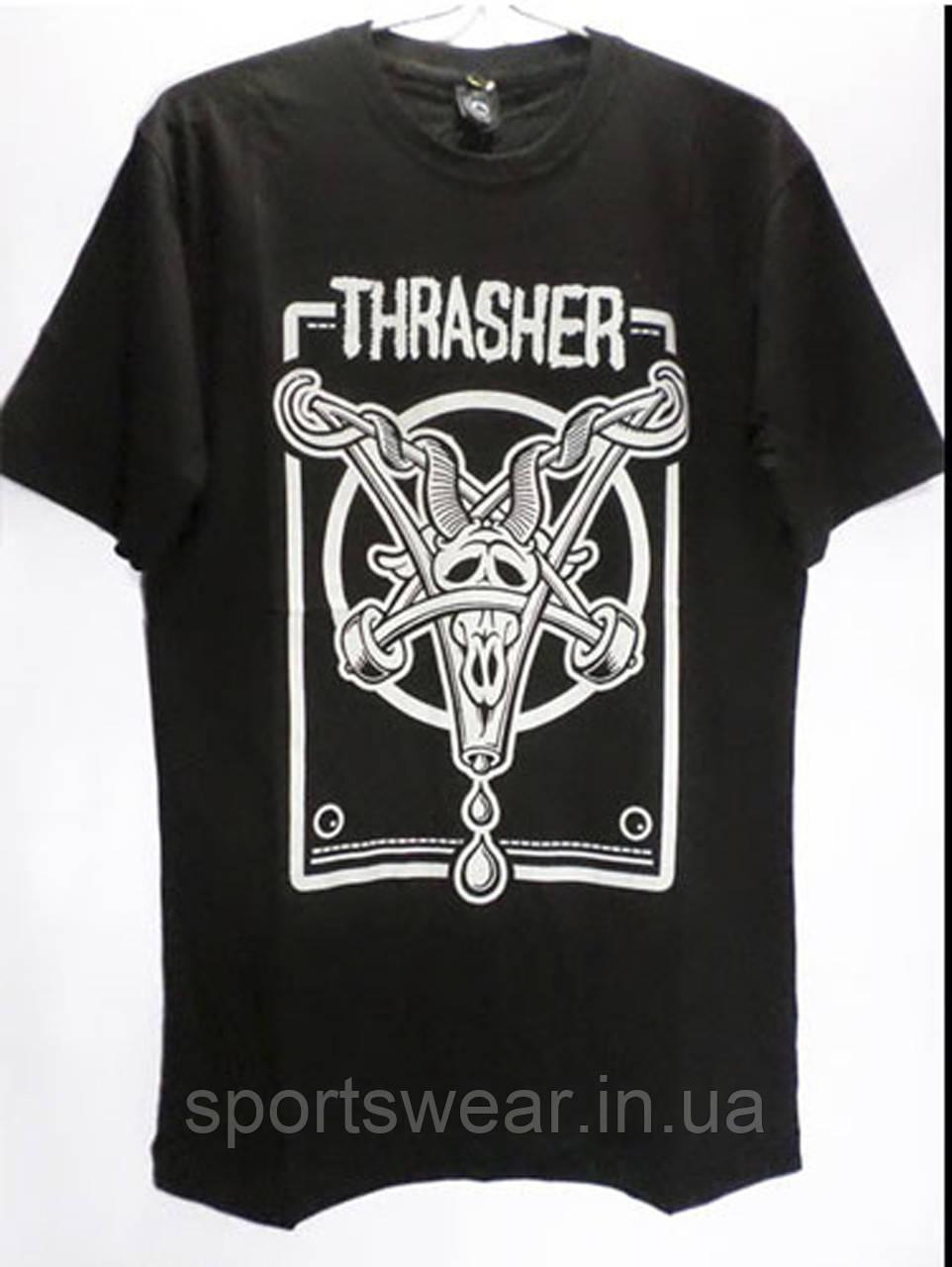"Футболка мужская Thrasher logo | Трешер Футболка """" В стиле Thrasher """""