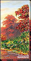 """Набор для вышивки бисером ТМ АБрис Арт на натуральном художественном холсте """"Осенние зарисовки-3"""""""